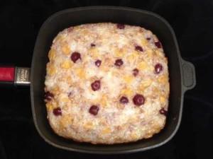 Reiskuchen Rezept mit Kirschen © www.moremuscles.de