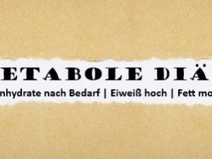 Metabole Diät