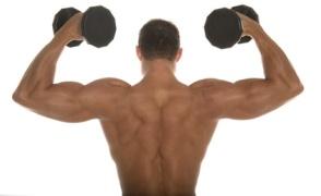 Schulter Training mit Hanteln © MAXFX - Fotolia.com