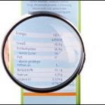 Liste / Tabelle von Lebensmitteln ohne Kohlenhydrate für Fettabbau