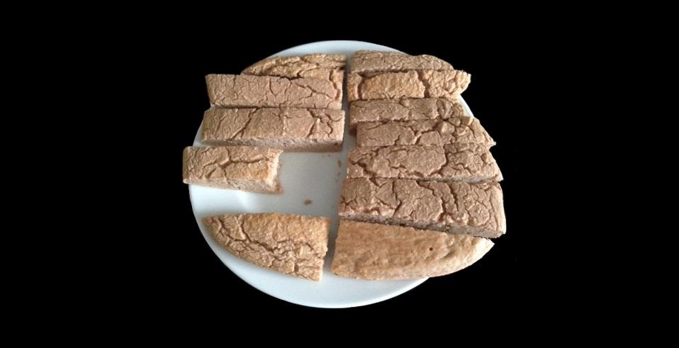 Weiße Bohnen Proteinriegel