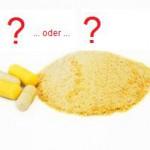 Creatin: Pulver oder Kapseln? Vor und Nachteile beider Arten