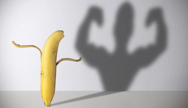Muskelaufbau und Banane © wowit